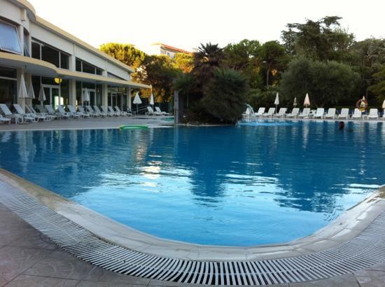 Hotel Terme Internazionale: piscina termale esterna