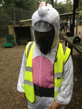 Taskforce Paint Ball Games: The Stag Bunny