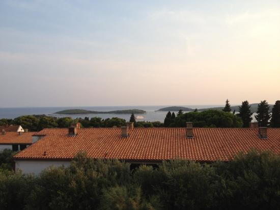 Violeta Hvar: view from balcony