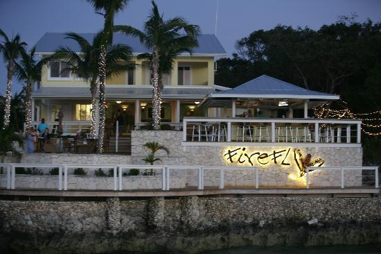 Shot Of Firefly Bar Grill From Sea Of Abaco Picture Of