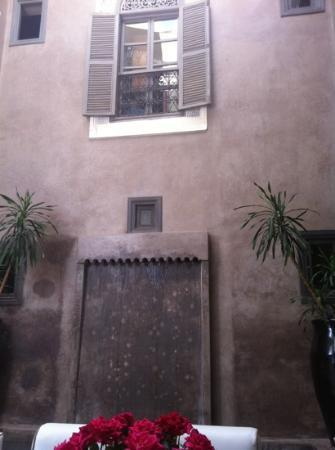 Riad Dar One: our rooms window