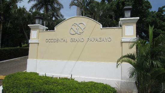 Occidental Grand Papagayo by Barcelo: Main Entrance