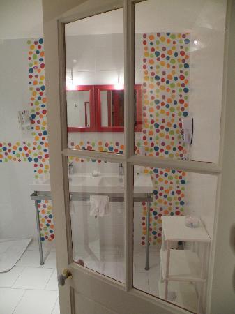Hotel Diderot: Bulles d'eau et air !
