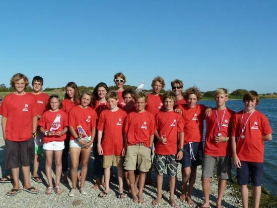 Yacht Club du Calaisis: L'équipe de compétition sur planche à voile