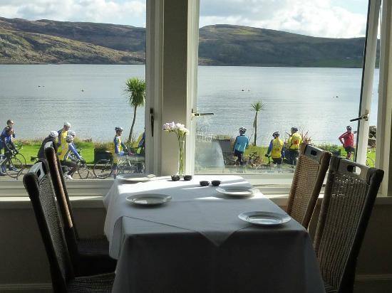 The Royal an Lochan Restaurant: Restaurant View at The Royal an lochan