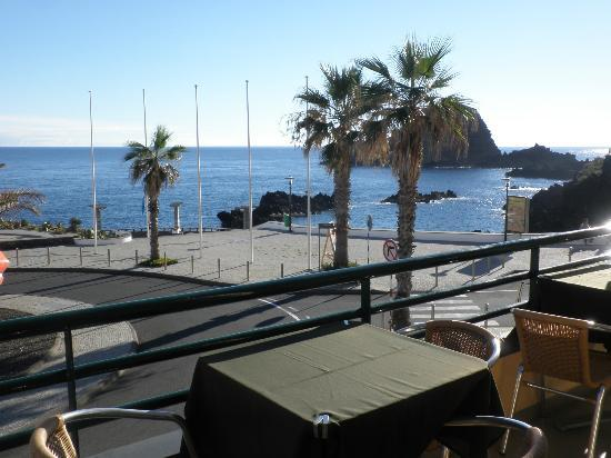 Hotel Salgueiro: View from restaurant terrace
