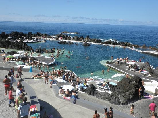 Pensao Salgueiro: Porto Moniz pool complex
