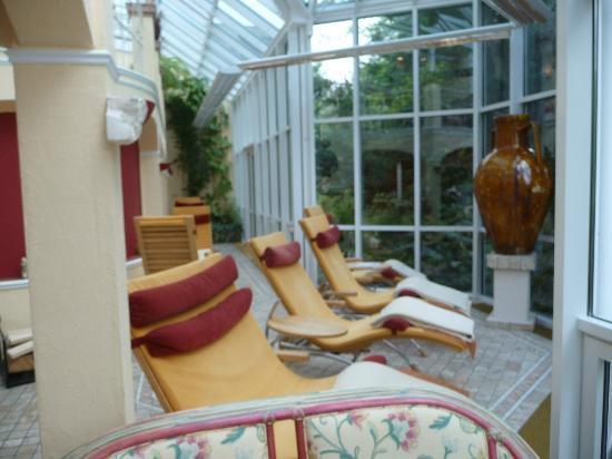 Hotel Erlebach: Wellnessbereich Wintergarten