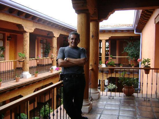 Hotel Pueblo Magico: afuera de la habitación