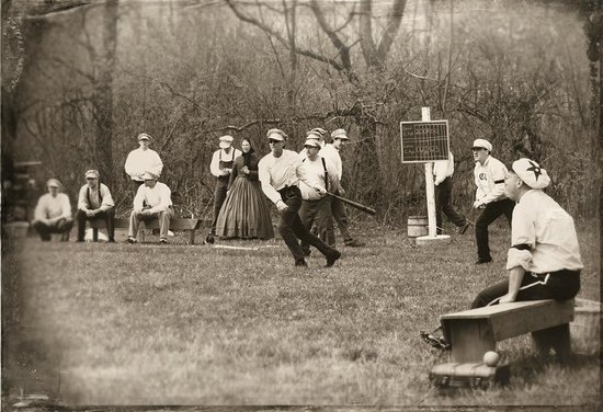 Wade House: Greenbush Dead Citys Vintage Base Ball, playing by the rules of 1860