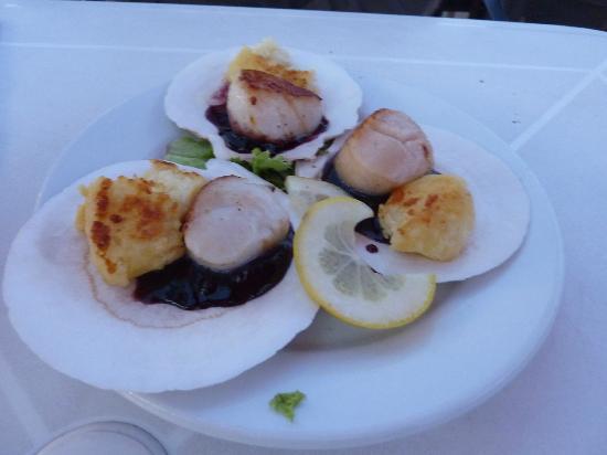 Boathouse Bistro Tapas Lounge & Restaurant: Scallops