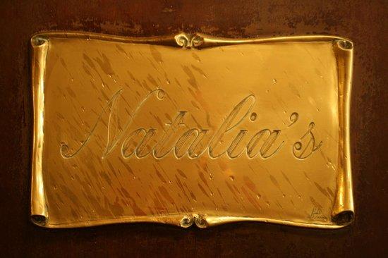 Natalia's Plaque