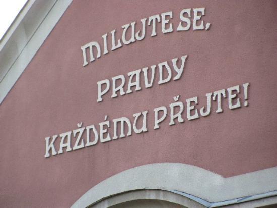 Ceske Budejovice, Tsjekkia: detail