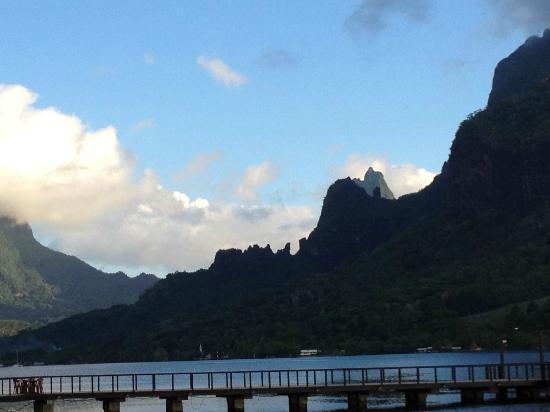 Hilton Moorea Lagoon Resort & Spa: Beautiful Geography