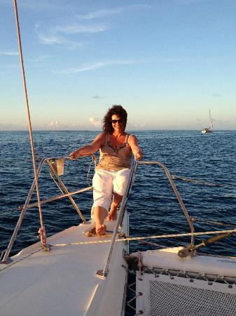 Hilton Moorea Lagoon Resort & Spa: Catamaran