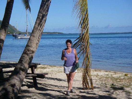 Hilton Moorea Lagoon Resort & Spa: Public Beach
