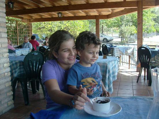 Hotel Da Angelo: Martina e Tommaso