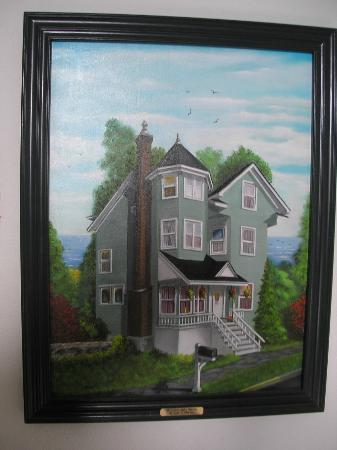 The Grand victorian B&B painting ~