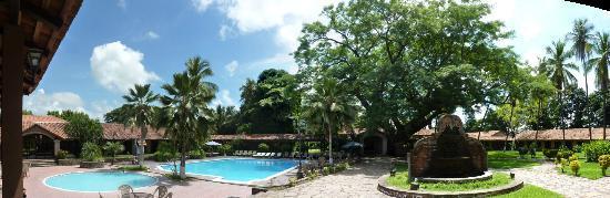 Choluteca, Honduras: Hotel grounds
