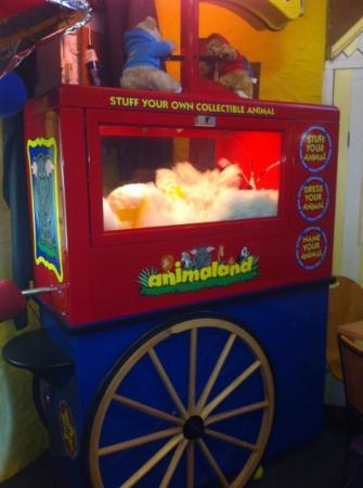 Treasure Island Fun Centre: you can even build and buy soft toys