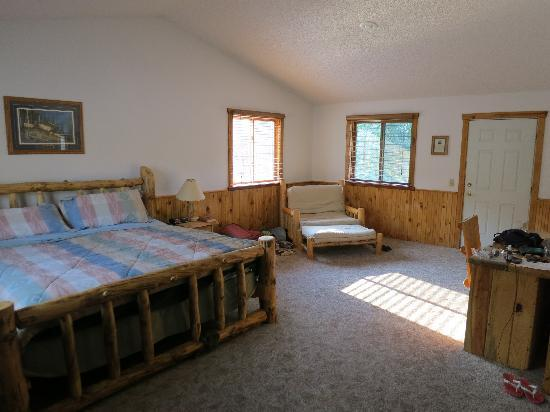 """Rocking Z Guest Ranch: Our room """"General Sherman"""""""