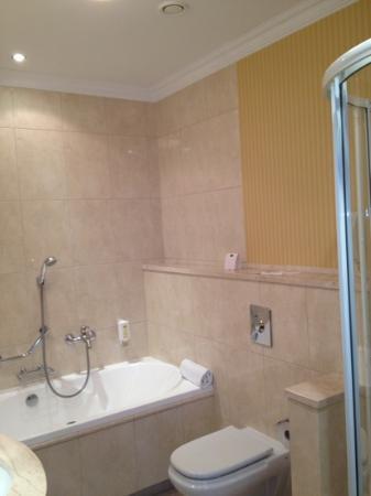 Hotel Branicki: Łazienka superior room 2