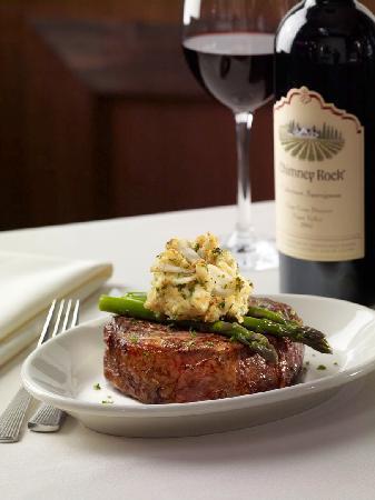 Ruth's Chris Steak House: Ribeye Oscar Style