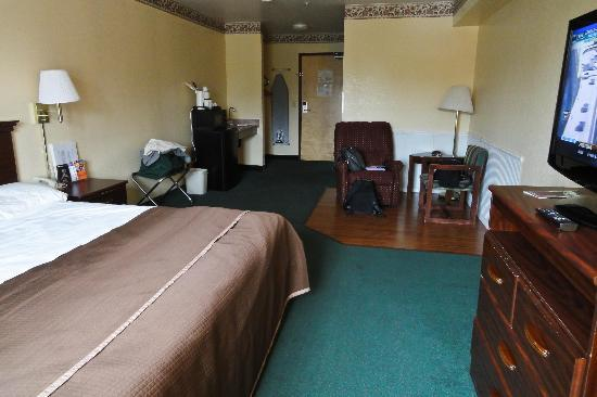 Howard Johnson Express Arcata: Chambre