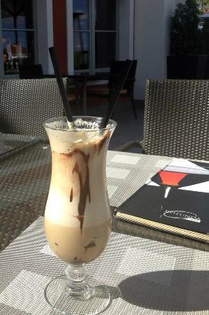 Sheraton Sopot Hotel : Ice caffe served in the Hotel Restaurant