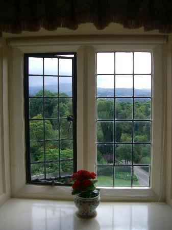Bodysgallen Hall & Spa: View out the window