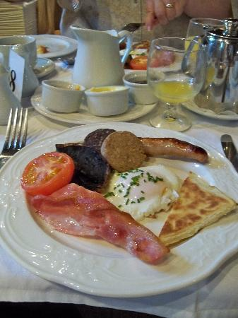 Ballyseede Castle: Breakfast