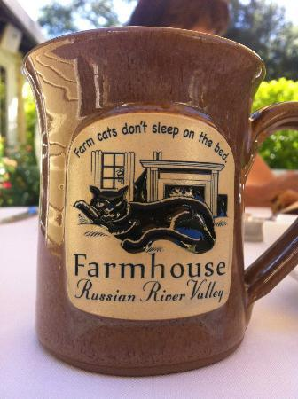 Farmhouse Inn: breakfast