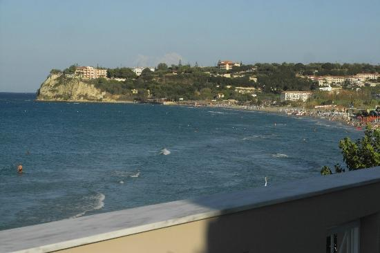Al Mare Beach Hotel : View from balcony, to the right
