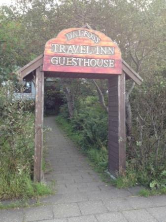 Travel Inn Guesthouse : entrance
