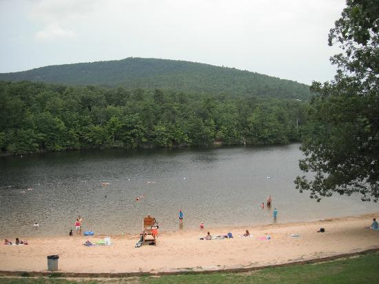 Hanging Rock State Park: The Lake At Hanging Rock, Swimming Is Available