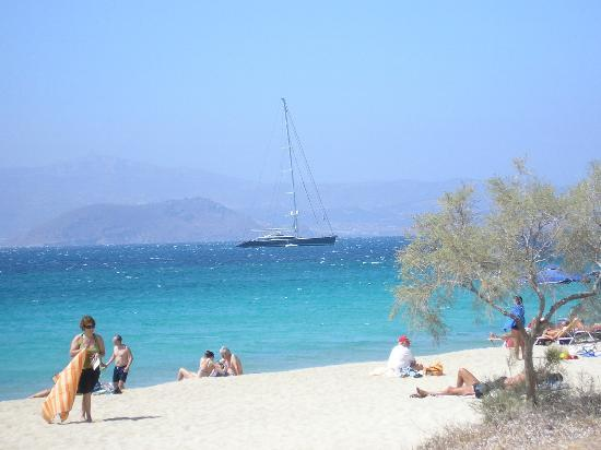 Hotel Kymata: spiaggia di prokopios