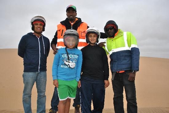 Desert Explorers: With Martin & other guides- they made sure safety was a priority