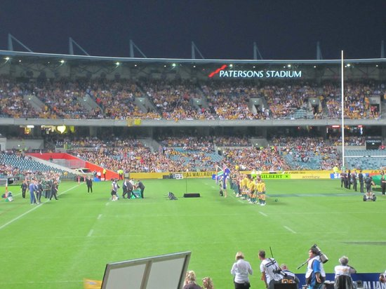 Subiaco, Australia: Anthems at the game