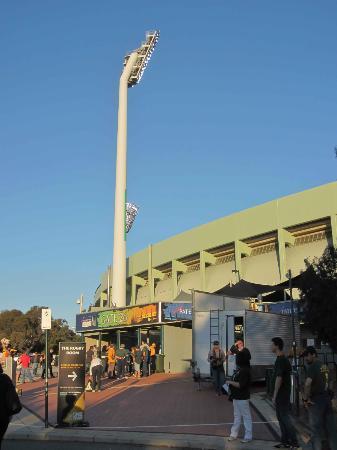 Domain Stadium: Entrance to Patersons Stadium