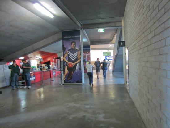 The concourse at Patersons Stadium