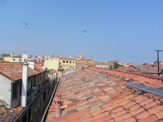 Hotel Ca' Dogaressa: View from rooftop terrace