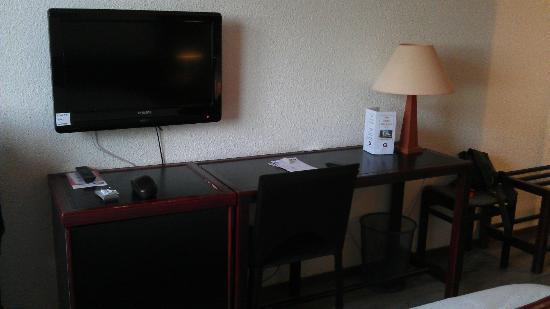 Hôtel Castel Burgond : vue chambre
