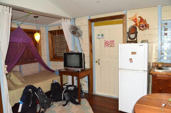 Panama's Paradise Saigoncito: extra bed in Room #6