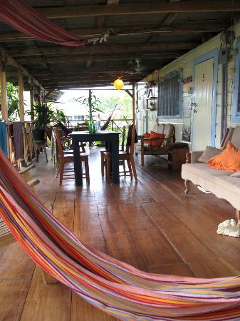 Panama's Paradise Saigoncito: Deck by the room #6