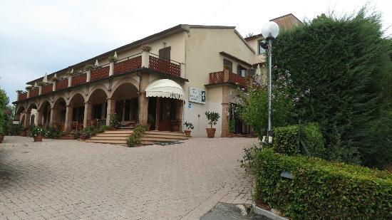 Hotel Le Renaie: En arrivant