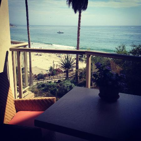 The Inn At Laguna Beach: Sea View from our balcony