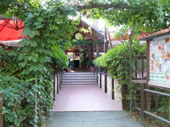 Camping Tiber: bar/restaurant