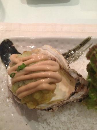 Kai: wasabi oyster