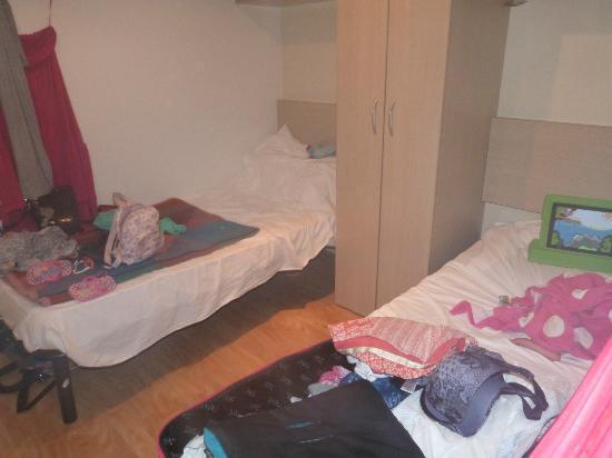 Camping Tiber: cabin