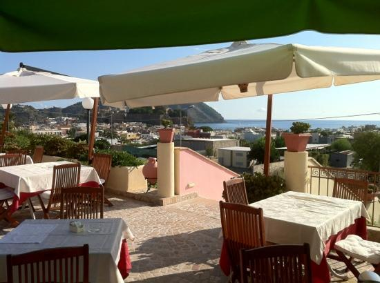 Hotel Tritone : terrazza dell'albergo